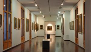 Sala del museo dedicada al barroco - Museo de bellas artes de Xàtiva