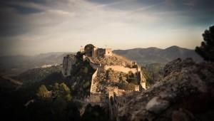 Vista general del Castell Menor de Xàtiva - Xàtiva Turisme
