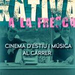 Xàtiva a la Fresca porta el cinema i la música a diferents espais de la ciutat