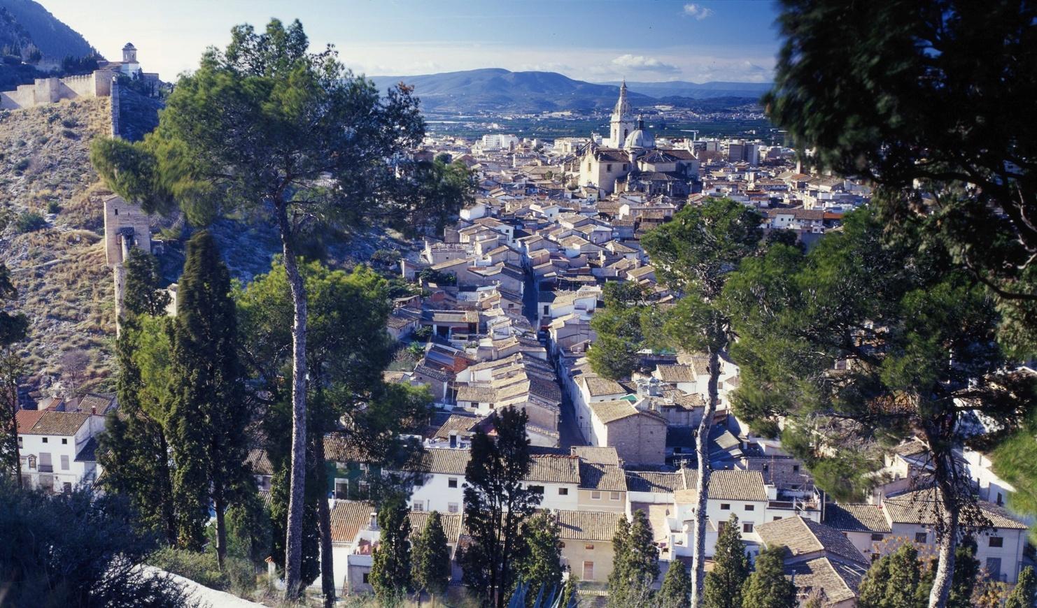 panoràmica Xàtiva