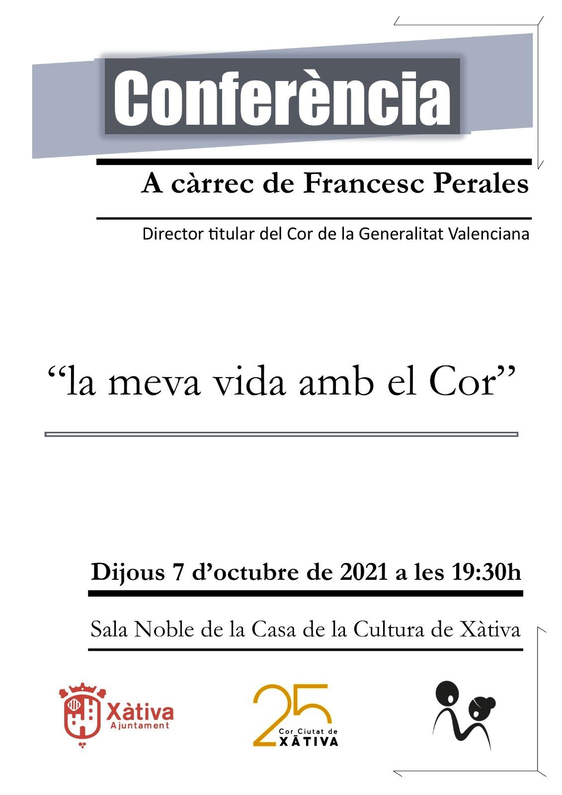 conferència Francesc Perales