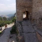 Santa María Gate. Defense in elbow and noble rooms