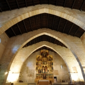 Inside Saint Feliu Church